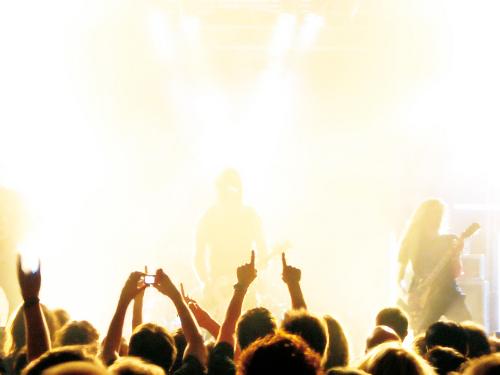 Rockband (Foto: bluefeeling / pixelio.de)