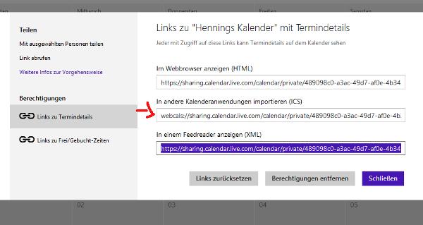 Windows Phone Kalender mit Thunderbird synchronisieren